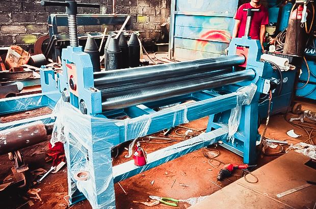 mesin roll plat, jasa roll plat, roll plat acp, roll tangki, mesin roll, harga mesin roll, jual mesin roll